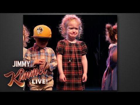 Download Youtube: Jimmy Kimmel's Daughter Cried at Holiday Performance