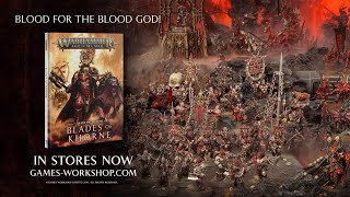 Battletome: Blades of Khorne – In Stores Now