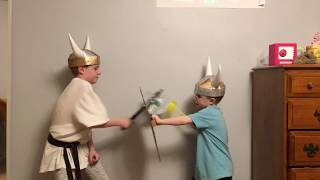 DIY Viking Helmet Tutorial