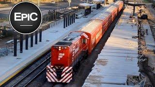 Belgrano Norte (Railway Line) - Buenos Aires, Argentina (HD)