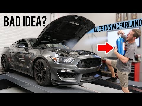 GT350 Dyno with Cleetus McFarland!