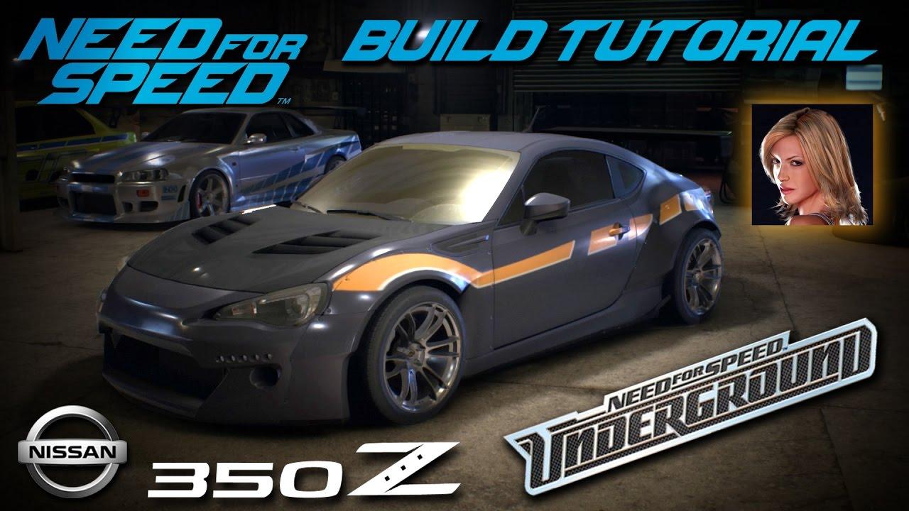 need for speed 2015 | underground 1 melissa nissan 350z build