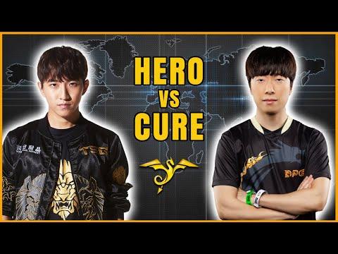 StarCraft 2 - HERO vs CURE! - ESL Open Cup #79 Korea