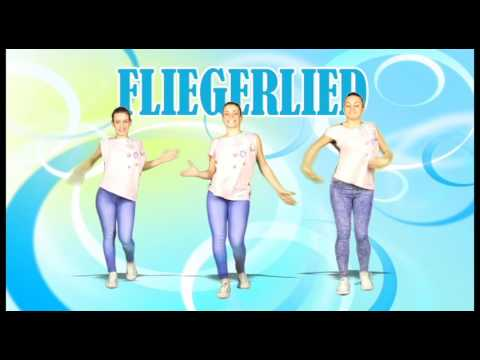 FLIEGERLIED - (Dance Tutorial) - Kids Dance