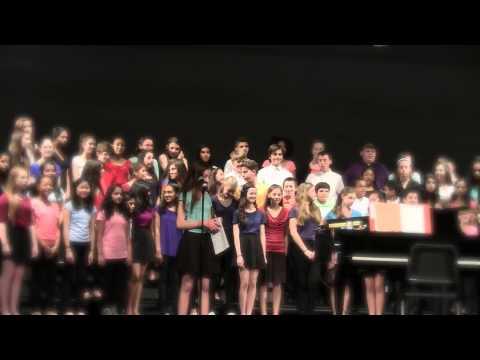 2015 Pond Road Middle School Spring Concert