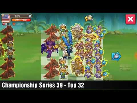 Little Empire Championship Series 39 Top 32 FORMATION GUIDE