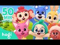 ALL Learn Colors and Sing Along | + Compilation | Nursery Rhymes | Hogi Kids Songs