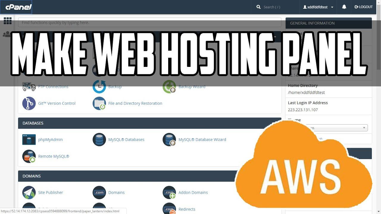 How To Make Your Own Web Hosting Cpanel in AWS Step by Step | WHM installation