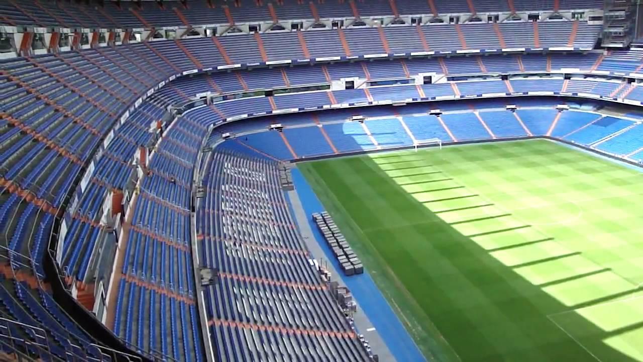 El estadio santiago bernab u tour top youtube for Estadio bernabeu puerta 0