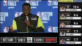 Draymond Green Press Conference | Western Conference Finals Game 2