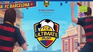 Fc barcelona ultimate rush (by gamehour ltd) android gameplay [hd]