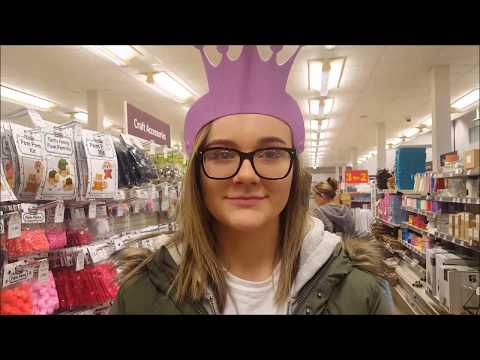 Hobbycraft – Shop with me