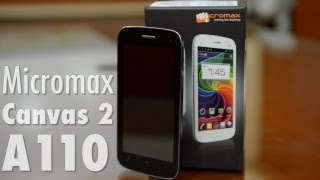 Micromax Canvas 2 A110   Video Review