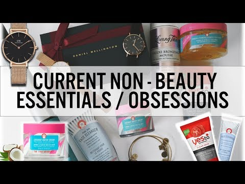 Current Non-Beauty Essentials / Obsessions - Skincare, Jewelry, Fashion