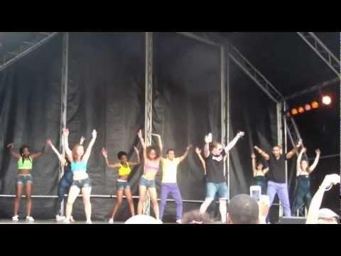"CUBAnía Dance Company Performing at Bristol Harbour Fest ""Miss Fatty Fatty"""