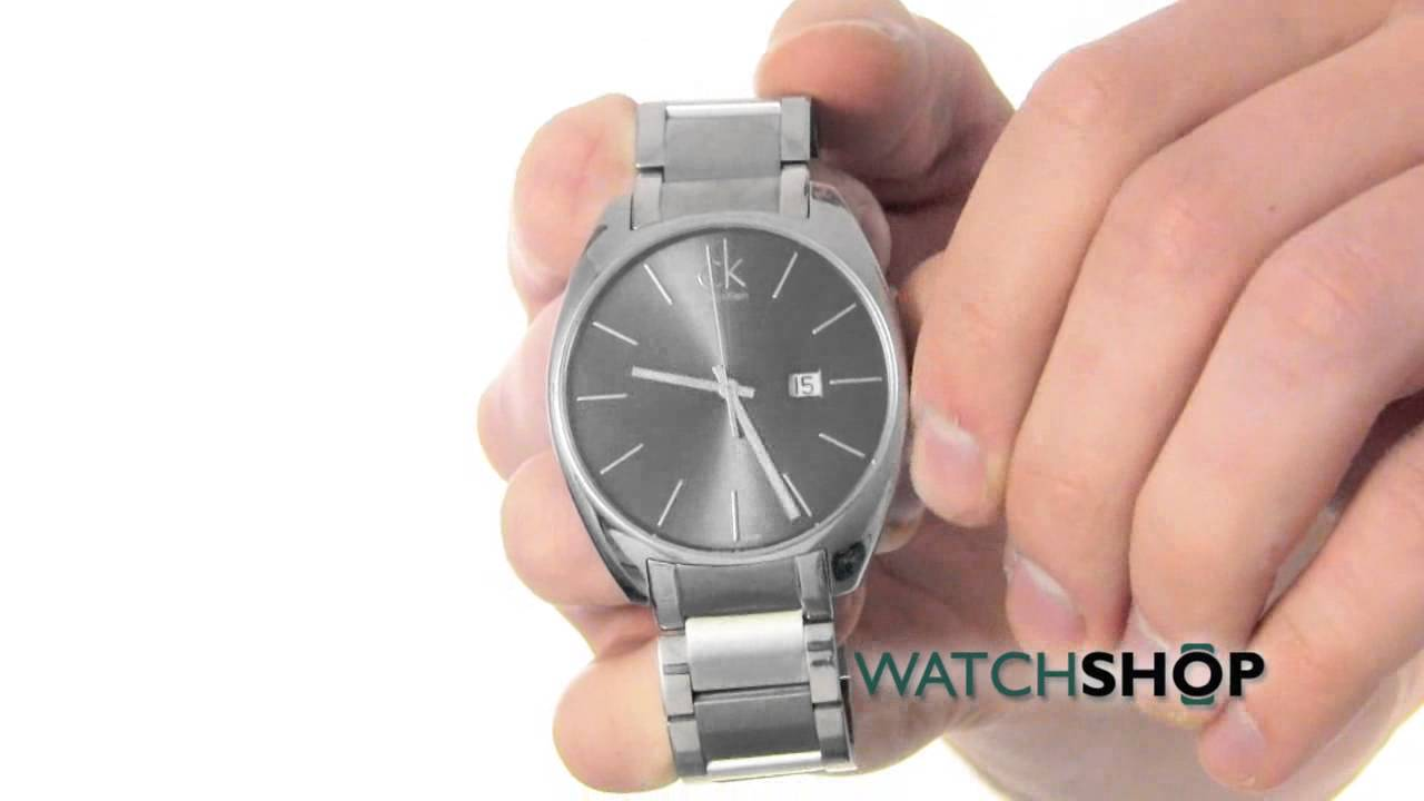 187fcaba6b0 Calvin Klein Men s Exchange Watch (K2F21161) - YouTube