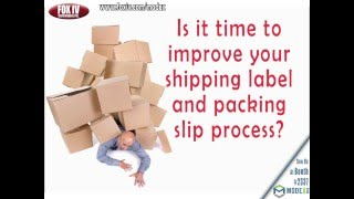 Find Your Packing Slip & Shipping Label Solution-Modex 2016 Booth #2337