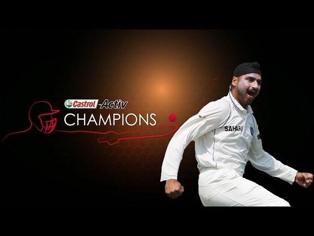 Castrol Activ Champions: Harbhajan Singh