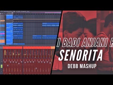debb-flp-#5,-how-i-made-ladki-badi-anjani-hai-x-senorita-mashup-|-fl-studio-20-|-flp-|-debb