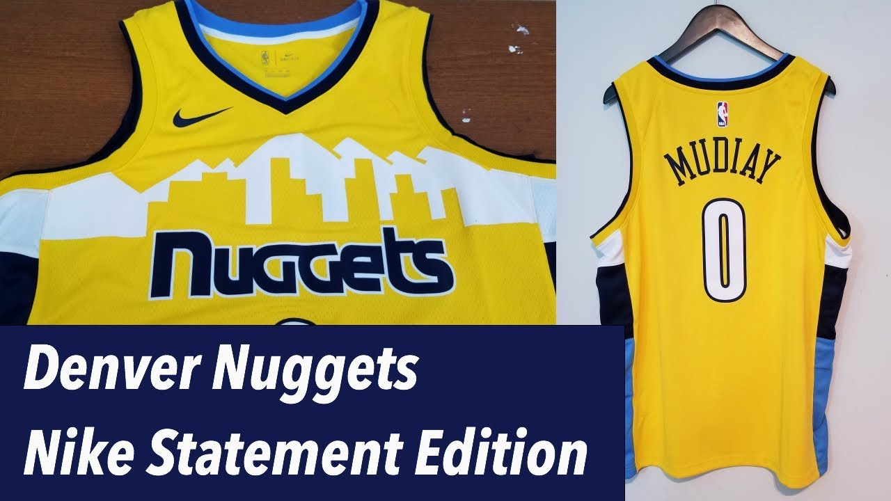 official photos 1ce6a e232e Denver Nuggets Nike Statement Jersey Reviewナイキデンバーナゲッツのユニフォームってどうなの?