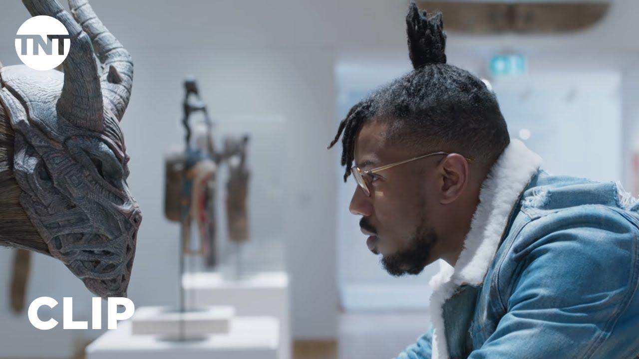 Black Panther: Killmonger's Museum Heist [CLIP]   TNT