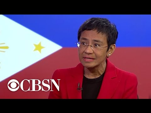 Philippine journalist Maria Ressa fights for freedom after another arrest