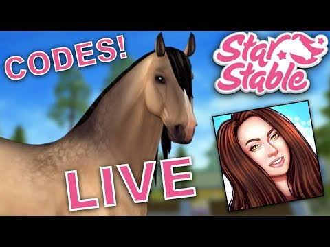 🔴 ⭐ NEW STAR STABLE CODES! 🐴⭐ | Star Stable Online Live Stream