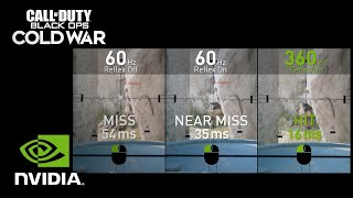GeForce Powered Low Latency Call of Duty: Black Ops Cold War SLO-MO Video