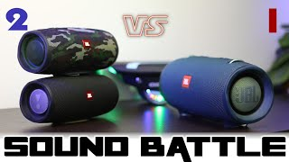 2x JBL Charge 4 vs Xtreme 2 :Sound Battle. The cheaper route is better!