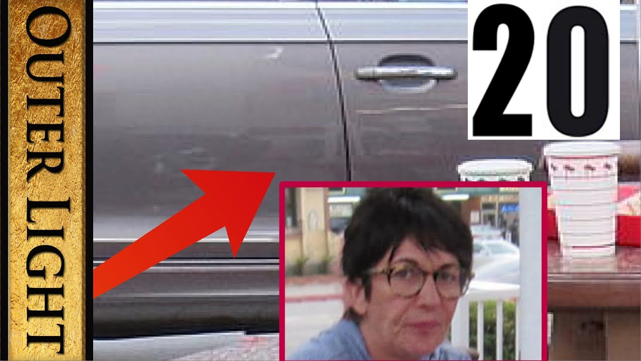 The Outer Light 20 strange anomalies in the Ghislaine Maxwell photos in In-N-Out Burger