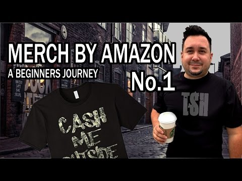 Merch by Amazon A Beginners Journey Getting Started Making Shirts