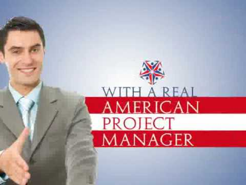 American Project Management and support for offshore teams, developers, firms and agencies.