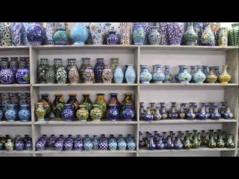 Blue Pottery of Jaipur - A Slice of Persia