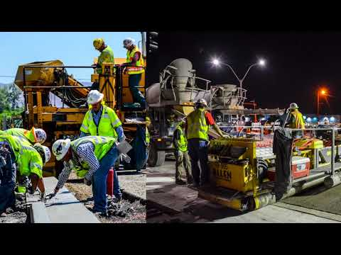 NDOT News: Finishing up the Glendale Reconstruction Project, December 2017