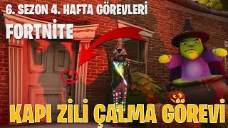 In a DIFFERENT HOUSE at a COMPETITOR'S PLAY for HER BELL | FORTNİTE 6. Season 4. WEEK