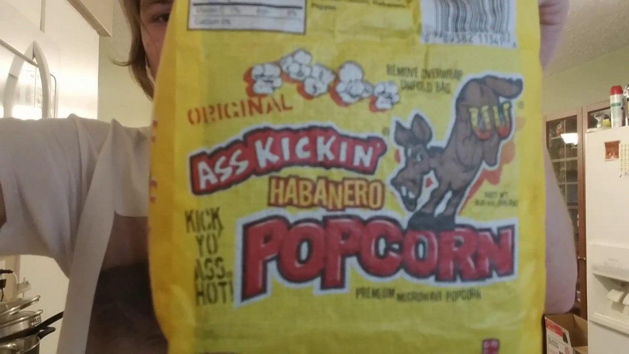ass kickin habanero popcorn