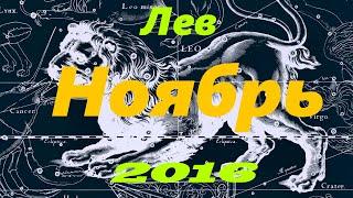 Гороскоп для Льва на Ноябрь 2016 года