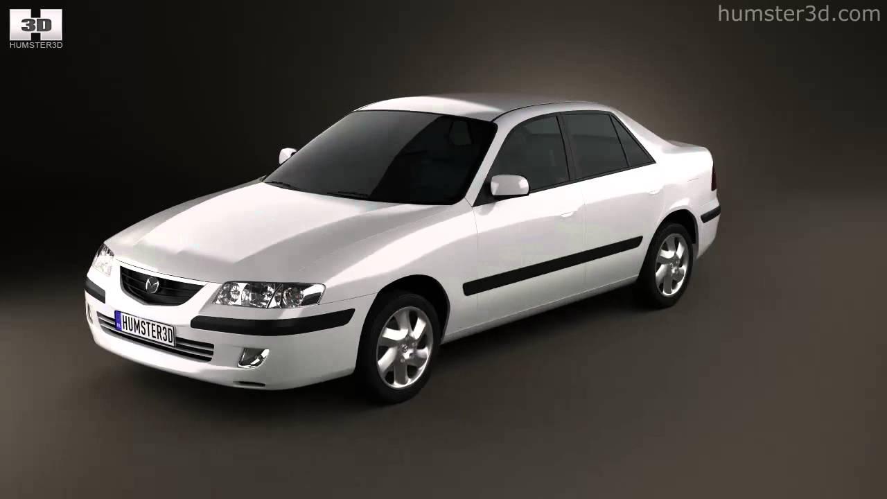 mazda 626 (gf) sedan 19983d model  humster3d - youtube