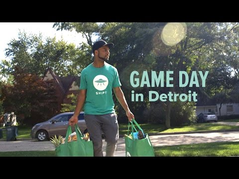 Game Day Delivered (with a little help from Golden Tate)