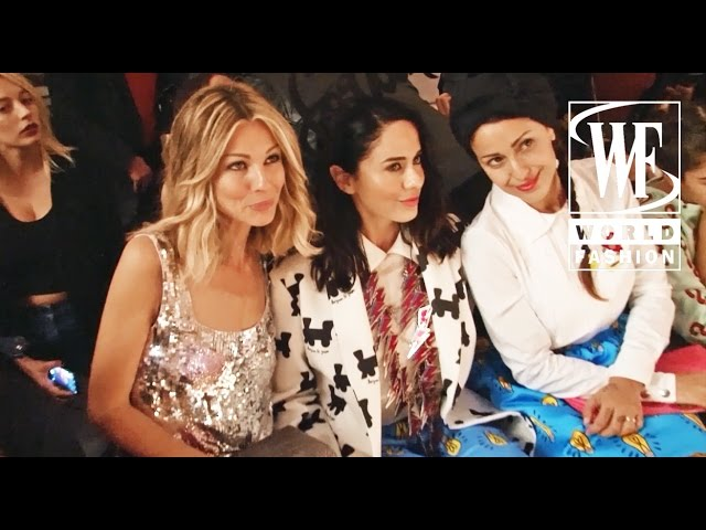 Front Row Au Jour Le Jour Spring-Summer 2016 Milan Fashion Week
