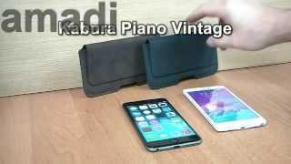 Kabura Piano Vintage Do iPhone 6 + Plus oraz Samsung Galaxy Note 4