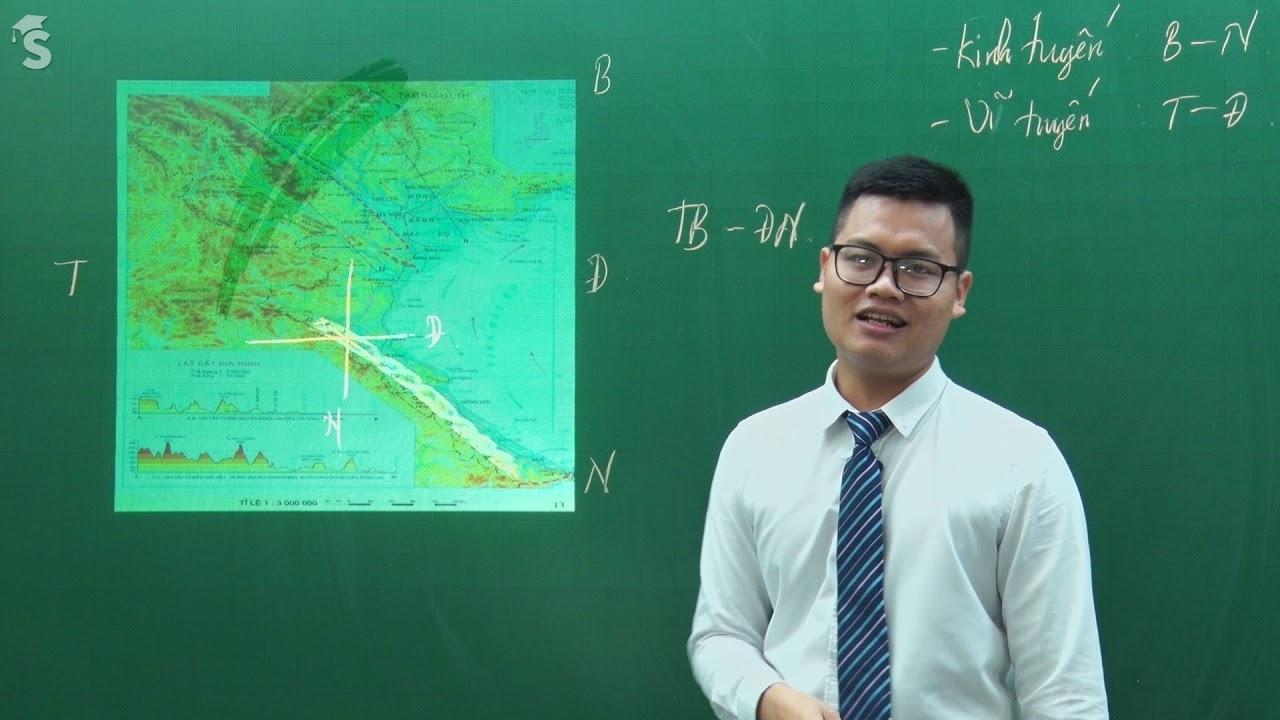 Phương hướng trên bản đồ. Kinh độ, vĩ độ và tọa độ địa lí – Môn Địa lí 6 – Thầy Vũ Hải Nam