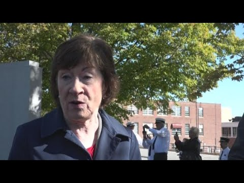 Senator Collins addresses new President Trump allegations