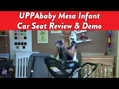 UPPAbaby Mesa Infant Car Seat Review and Demo | CloudMom - YouTube