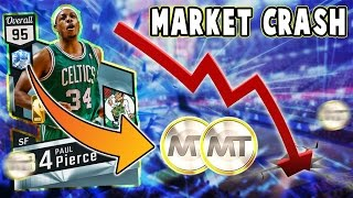 MARKET CRASH IN NBA 2K17 MyTEAM!! HOW TO MAKE LOTS OF MT DURING THE MARKET CRASH!! (Fast & Easy)