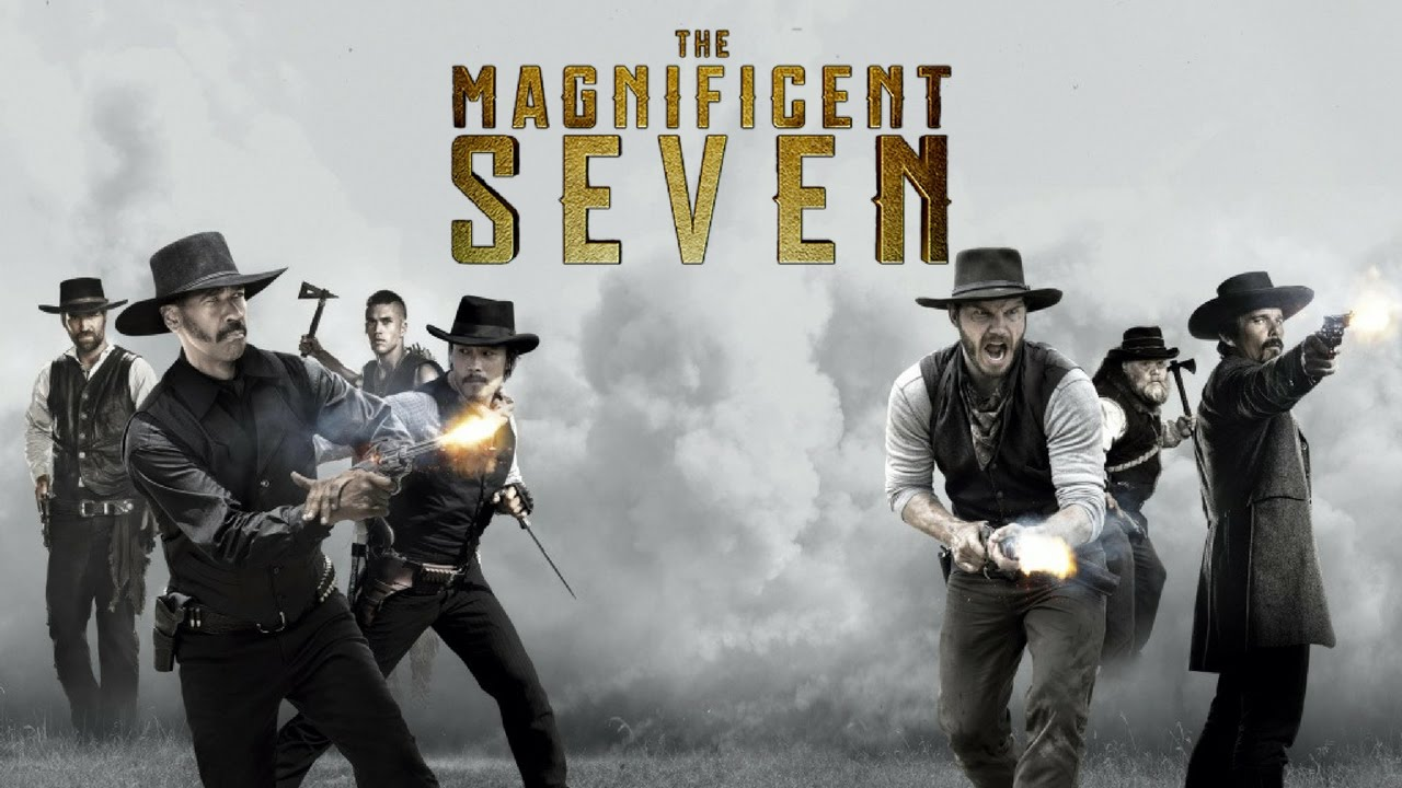 welshly arms hold on i 39 m coming the magnificent seven music video youtube. Black Bedroom Furniture Sets. Home Design Ideas
