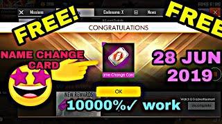 Download Free Name Change Card On Garena Free Fire MP3, MKV