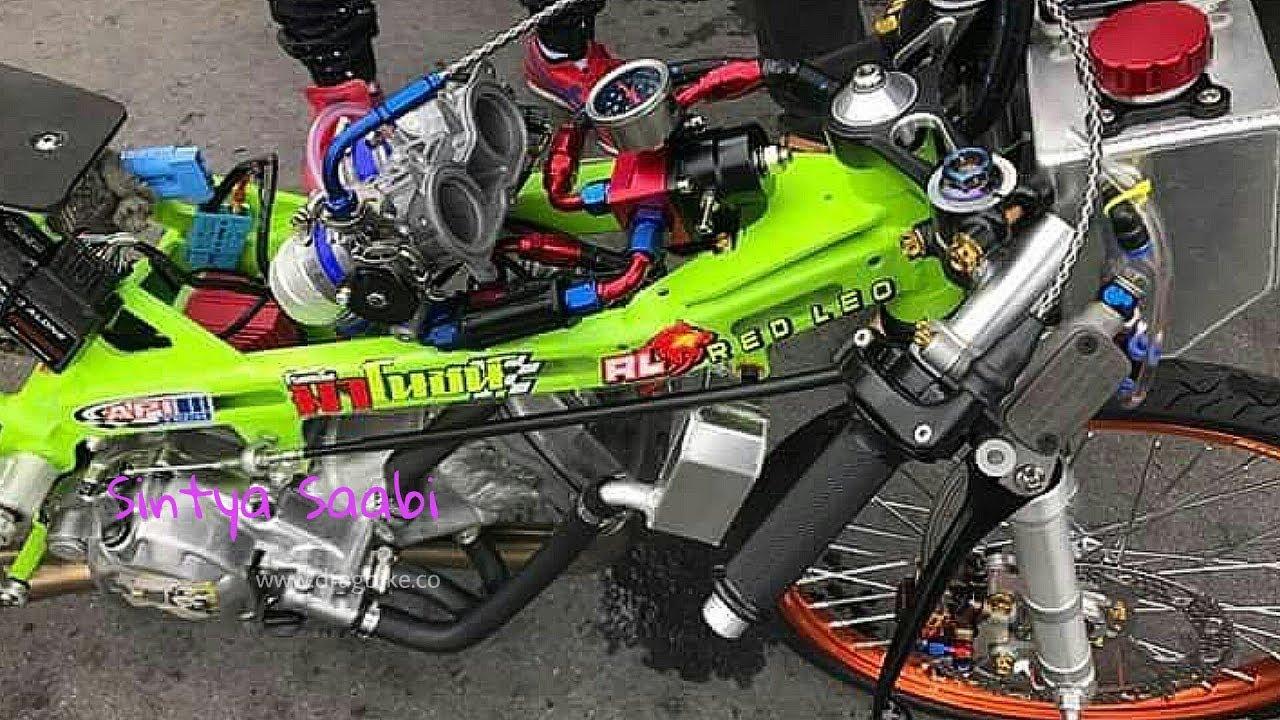 Modif Motor Honda Sonic Modif Mesin Injeksi Turbo 350cc Sangar