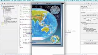 iOS Programming Tutorial - Implementation of UIScrollView in iOS app using xCode - 08