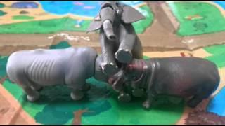 動物のおもちゃでダンス、かわいいダンスをご覧下さい。今回アニアでの...